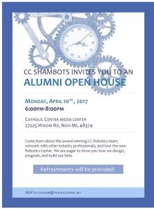 CC Shambots Alumni Open House